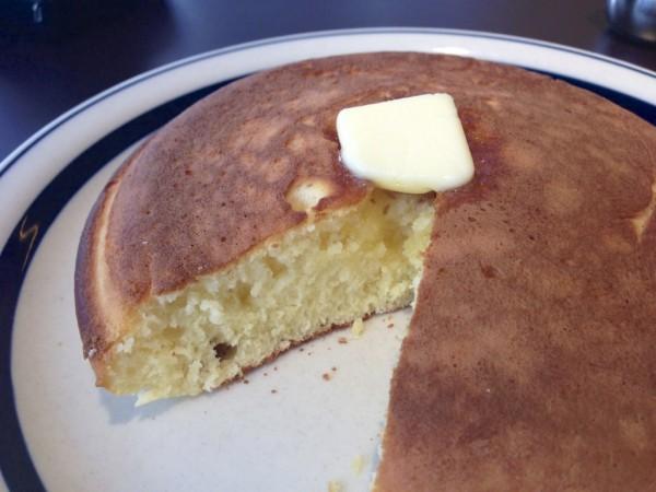 キューピーのホットケーキ断面