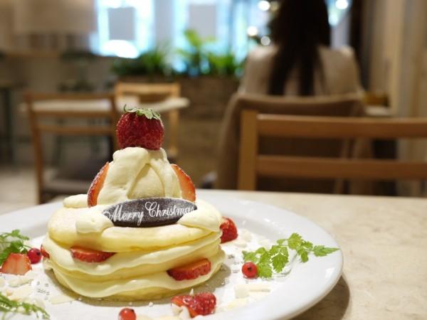 j.s.pancake cafeのクリスマス・パンケーキ
