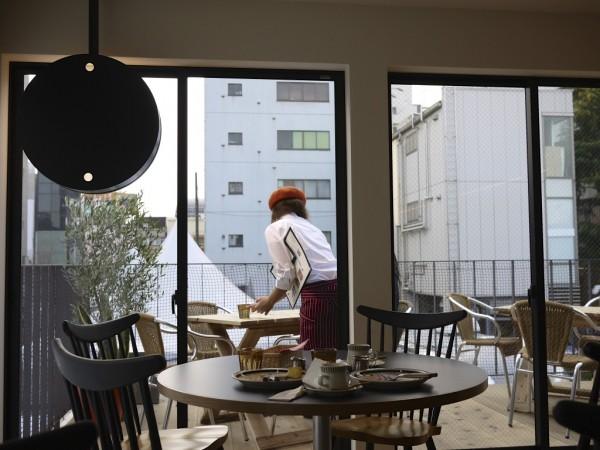 キユーピー3分間クッキング南青山三丁目キッチンのテラス