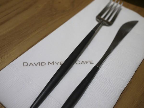 DAVID MYERS CAFEのカトラリー