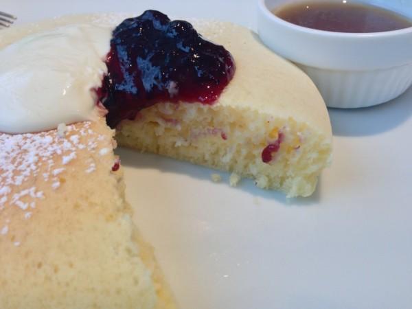パンケーキの断面:松之助N.Y.代官山