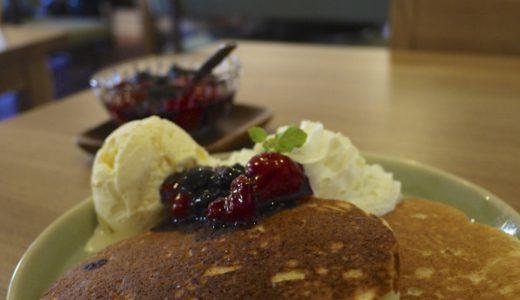 浅草のカフェmichikusaのパンケーキ:長居したくなる落ち着いたカフェ