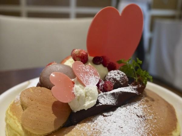 恵比寿アクイーユのパンケーキ