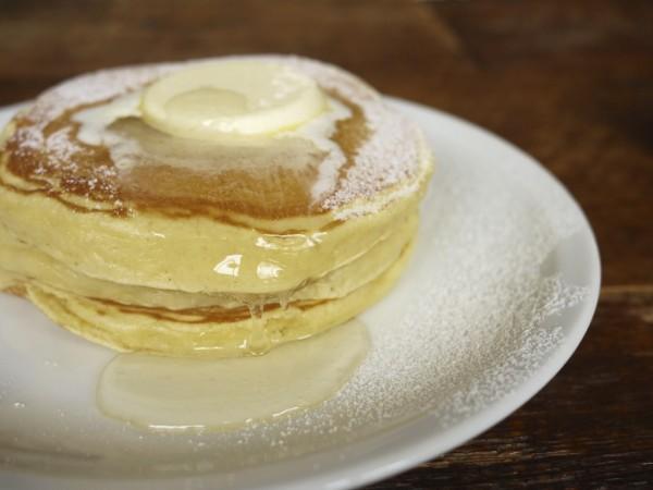 代官山IVY PLACEのクラシックバターミルクパンケーキ