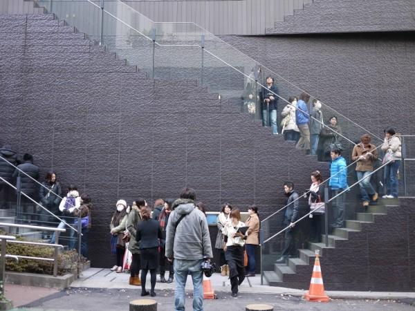 GYREの外階段