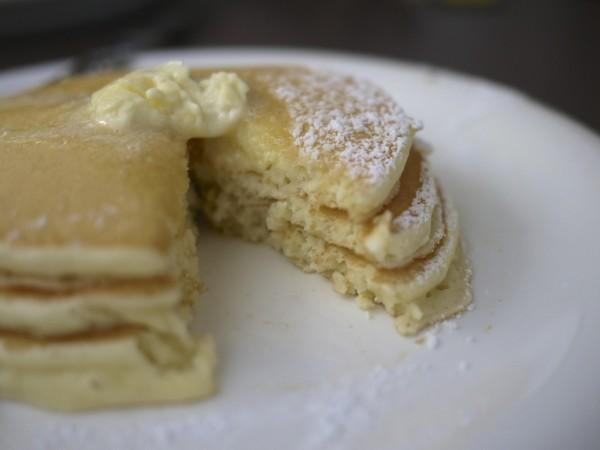 パンケーキの断面