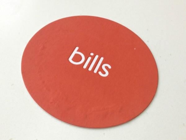 billsのコースター