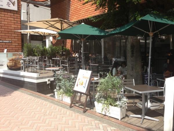 煙草と塩の博物館にj.s. pancake cafe