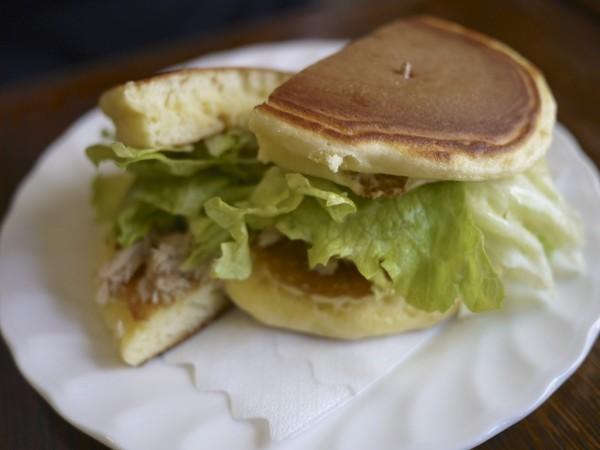 ツナバーグ / トミィのホットケーキ