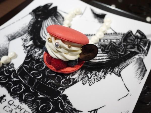Q-pot CAFE.のネックレスプレート