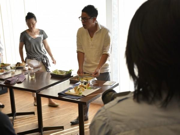 料理写真教室の様子