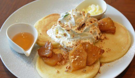 原宿BANYAN(バニヤン)でパイナップルバターを使ったビッグアイランドパンケーキ #パンケーキツアーズ