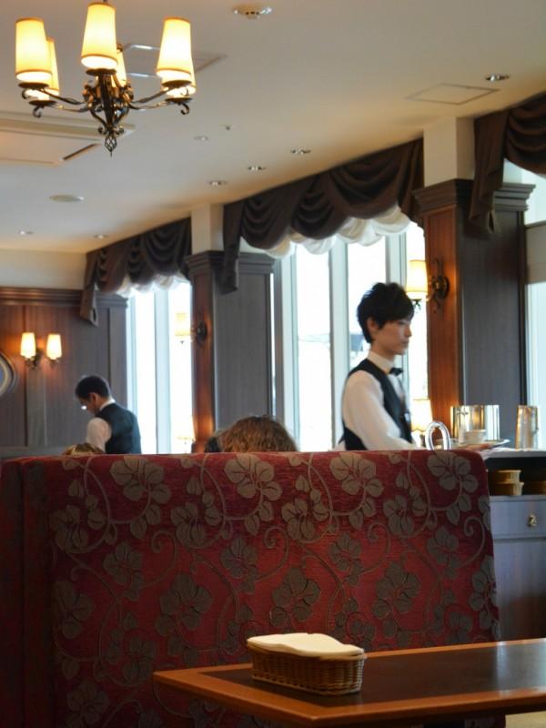 カフェ・ラントマンの内装