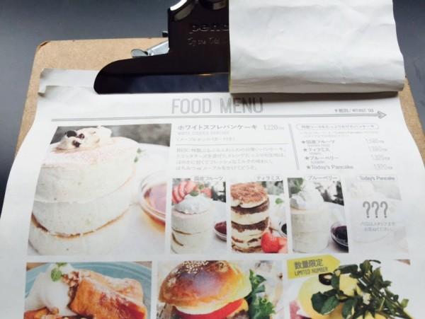 メニュー / 原宿バーンサイドストリートカフェ外観