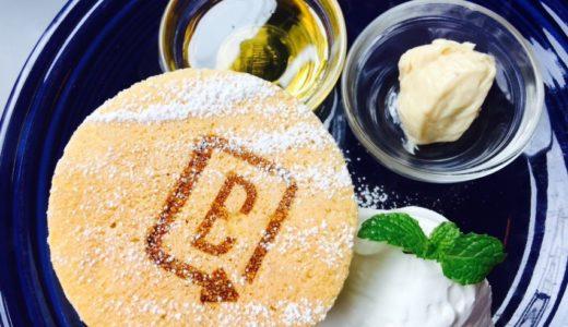 バーンサイドストリートカフェ原宿の極厚パンケーキ