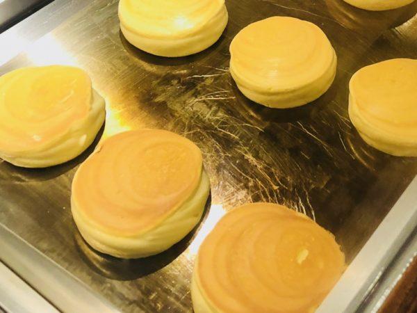椿サロンのホットケーキの作り方